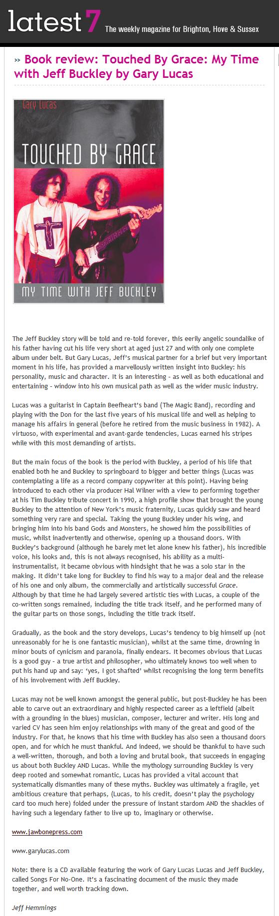 Gary Lucas :: reviews